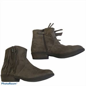 Circus by Sam Edelman faux suede ankle boots